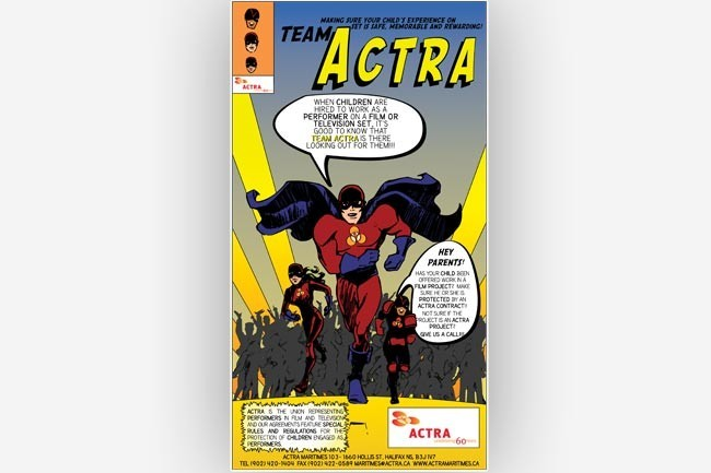 Team Actra full ad