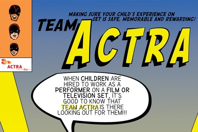 Team Actra close up
