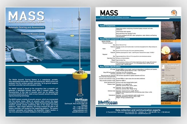 MASS product sheet