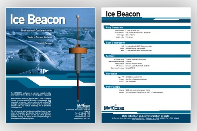Ice Beacon product sheet